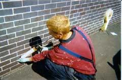 Injectie muren tegen opstijgend vocht